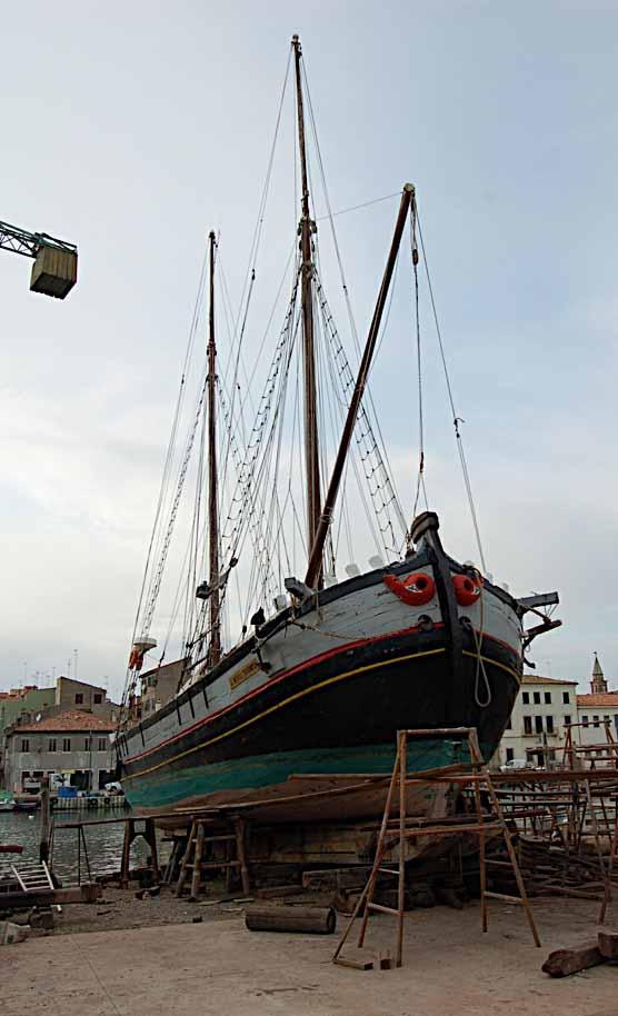 Gilberto penzo barche e navi veneziane la flotta di - Riva barche sito ufficiale ...