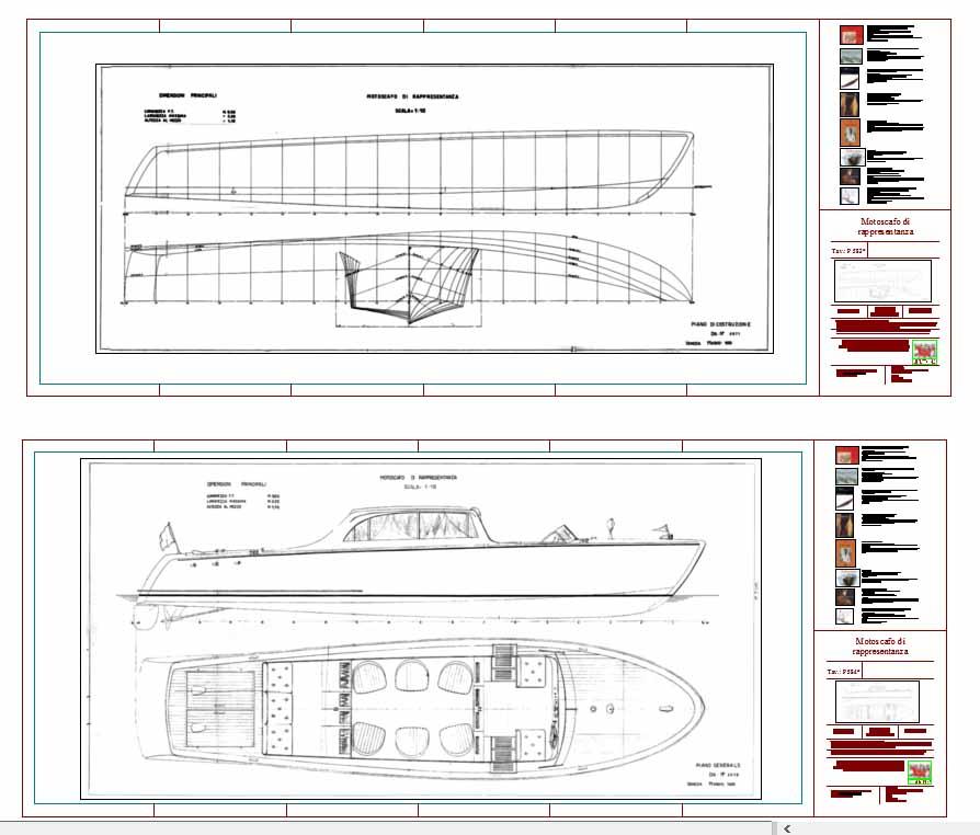 Conservazione progetti e sistemi di progettazione for Costruzione di disegni online