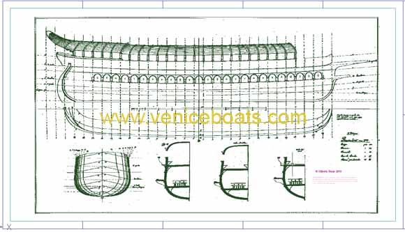 Conservazione progetti e sistemi di progettazione for Piani di ponte ottagonale